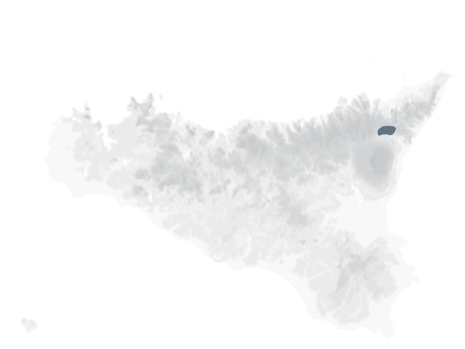 Mappa vitigni Nerello Mascalese