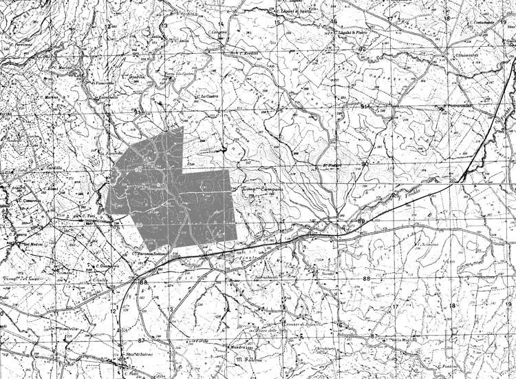 Mappa tenuta antica