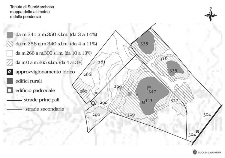 Mappa tenuta altimetrie-e-pendenze