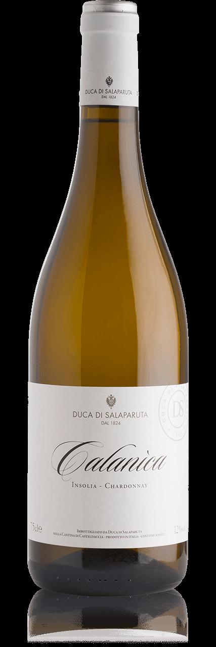 Bottiglia Vino Calanìca <span class='rimpi'>– Insolia e Chardonnay</span>