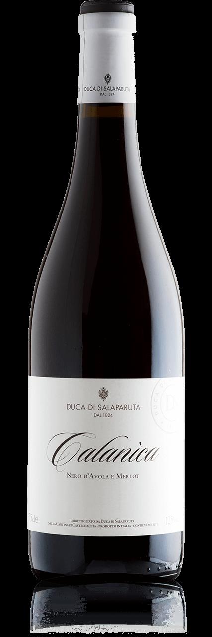 Bottiglia Vino Calanìca <span class='rimpi'>&#8211; Nero d'Avola e Merlot</span>