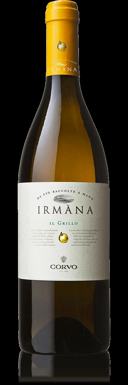 Bottiglia Vino Irmàna <span class='rimpi'>– Grillo</span>