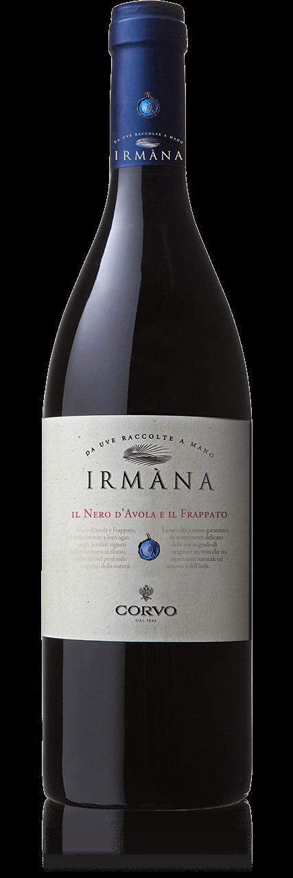 Bottiglia Vino Irmàna <span class='rimpi'>– Nero d'Avola e Frappato</span>