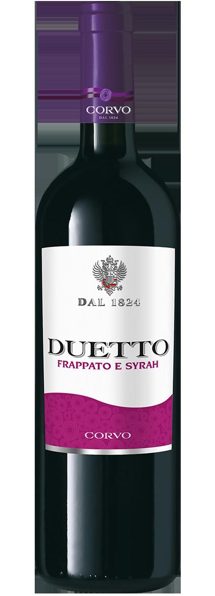 Bottiglia Vino Duetto <span class='rimpi'>– Frappato e Syrah</span>