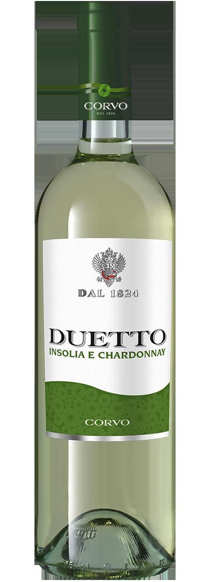 Bottiglia Vino Duetto <span class='rimpi'>– Insolia e Chardonnay</span>