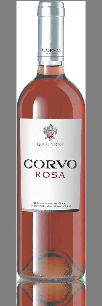 Bottiglia Vino Corvo Rosa