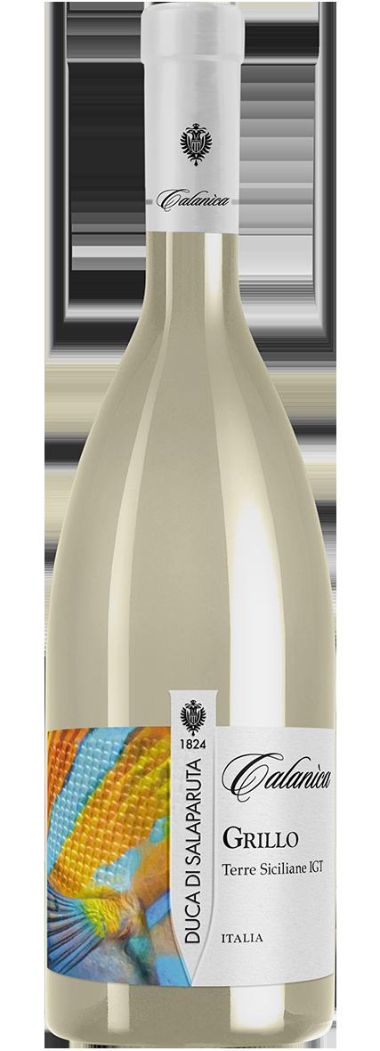 Bottiglia Vino Calanìca <span class='rimpi'>– Grillo</span>