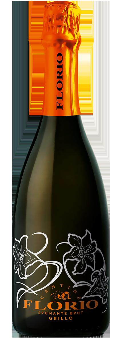 Bottiglia Vino Florio Spumante Brut