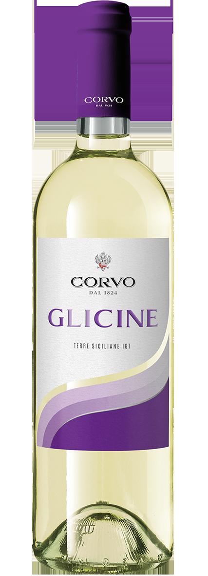 Bottiglia Vino Corvo Glicine