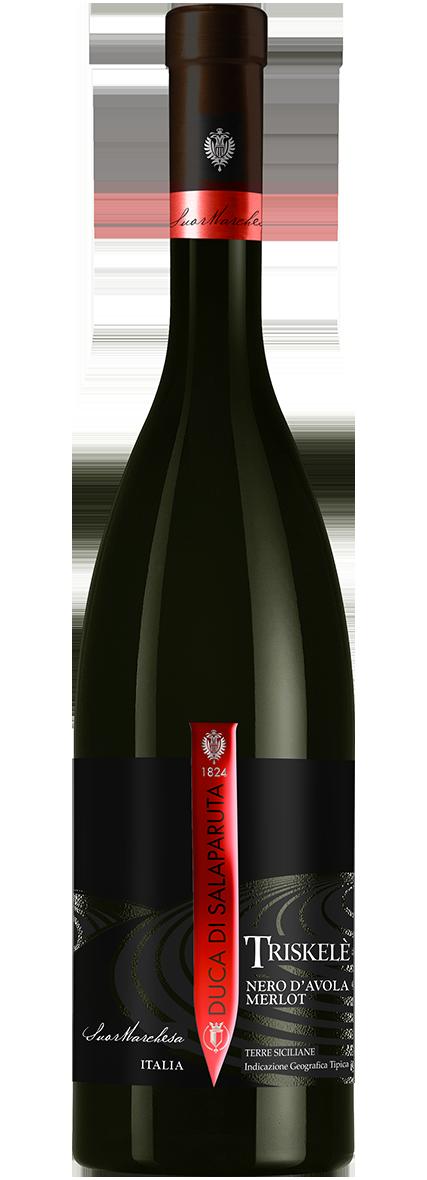 Bottiglia Vino Triskelè
