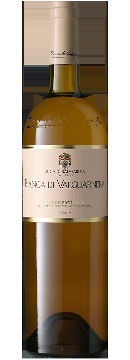 Bottiglia Vino Bianca di Valguarnera