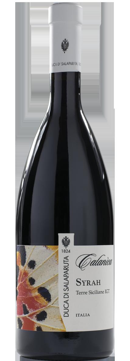 Bottiglia Vino Calanìca <span class='rimpi'>– Syrah</span>