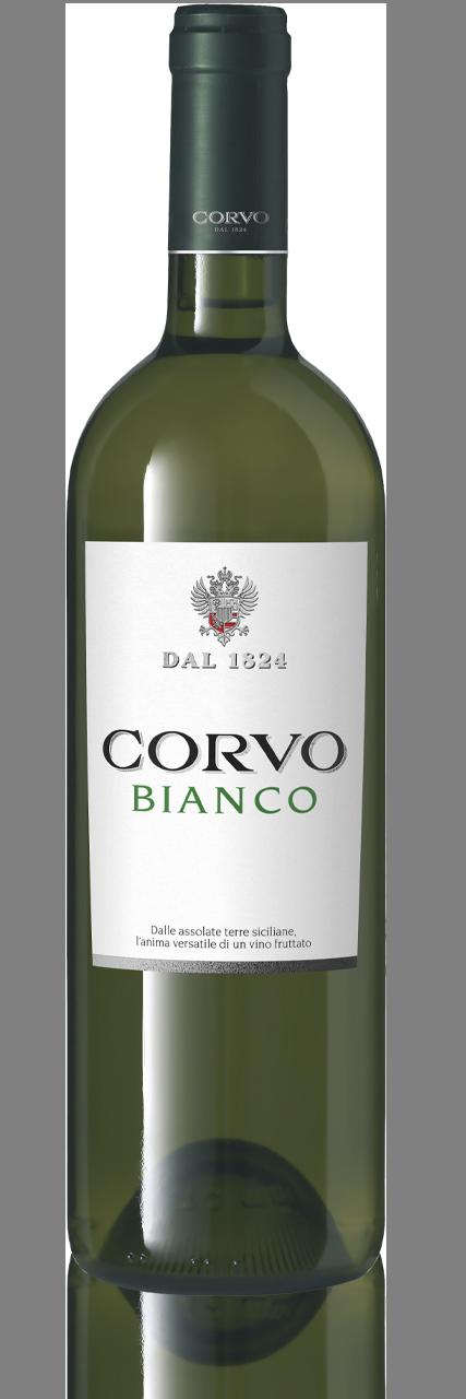Bottiglia Vino Corvo Bianco