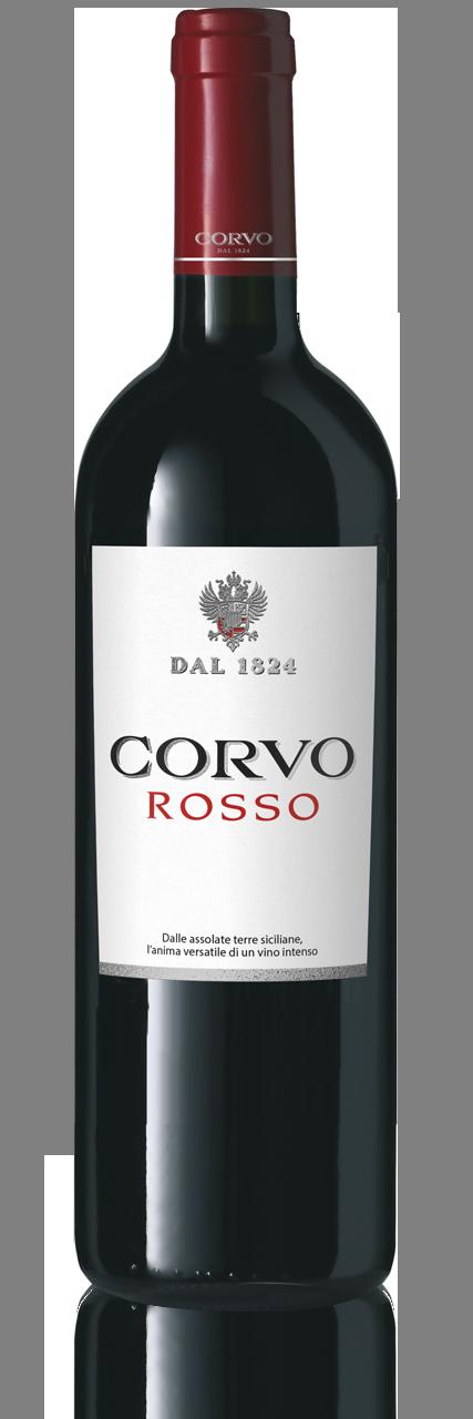 Bottiglia Vino Corvo Rosso